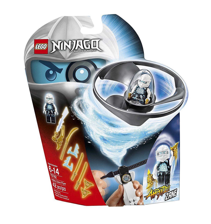 LEGO NINJAGO ZANE AIRJITZU FLYER MINIFIGURE SPINJITZU MISB RETIRED SET 70742 HTF