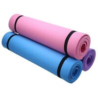 Yoga Mat Exercise Pad 6mm Thick Non-slip Gym Pilates Health Lose Weight Fitness
