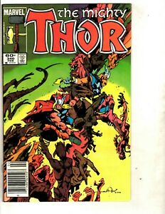 587 Mighty Thor # 85 NM 1st Print Marvel Comic Book Disassembled Ragnarok J99