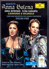 2.DVD Anna NETREBKO & Elina GARANCA Signiert DONIZETTI ANNA BOLENA D'ARCANGELO