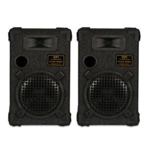GOLDWOOD-DPI-800C-8-Passive-8-034-Speaker-Pair-Monitor-Studio-Home-Audio