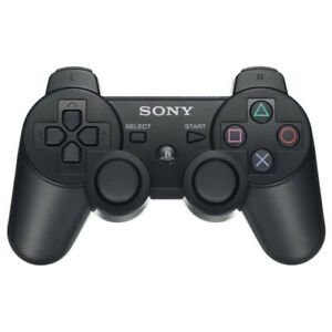Original-Sony-PlayStation-3-PS3-DualShock-3-Wireless-SixAxis-Controller-Black