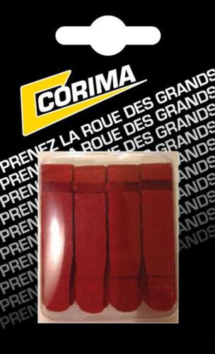 Corima 4 Bremsbeläge 2.0 für Räder Kohlenstoff