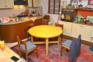 Ikea Tavoli Rotondi In Legno.Tavolo Rotondo Legno Massiccio Ikea Diametro 130cm Ebay
