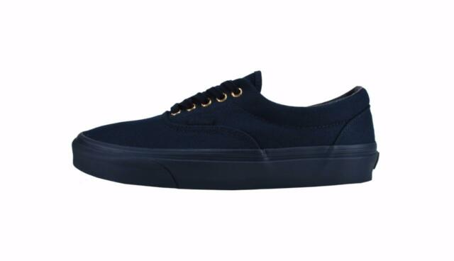 1b594b2ef17c1c Vans Women Men Unisex Shoes Era Dress Blues Gold Mono Sneakers VN0003Z5HDH