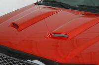 Painted 1995 - 1998 Chevrolet Cavalier Z24 Hoodscoops 2 Piece Smooth