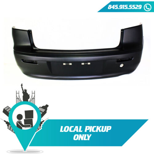 LOCAL PICKUP 2008-2017 FITS MITSUBISHI LANCER REAR BUMPER COVER PRIMED MI1100287
