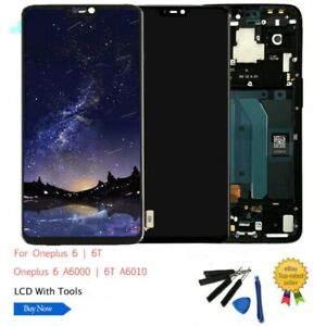 AMOLED-For-OnePlus-6-6T-7-LCD-Display-Screen-Touch-Assembly-Replacement-DL