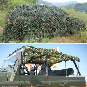 Camping Military Hunting Woodland leaves Camouflage Camo Army Net Netting Hot ER