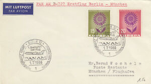 14306-CLEARANCE-Germany-Cover-Pan-Am-Berlin-Munich-1-July-1966
