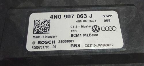 Original VW AUDI Steuergerät Bordnetzsteuergerät BCM1 4N0907063J