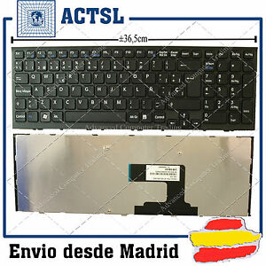 KEYBOARD-SPANISH-for-LAPTOP-SONY-VAIO-VPC-EL-NEGRO-148968881-9Z-N5CSW-A0S
