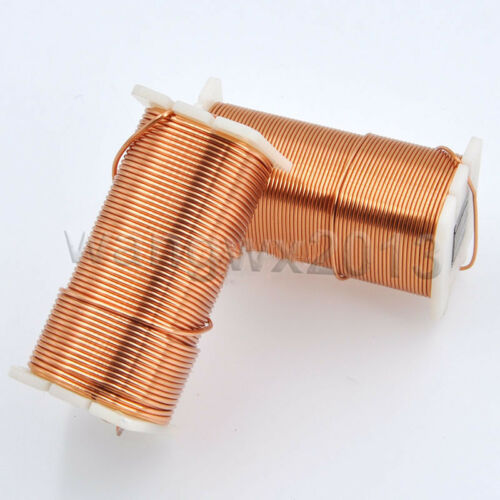 0.8mm 0.1mH-2.8mH Audio Amplifier Speaker Crossover Inductor Oxygen-Free Copper