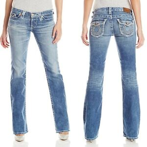 Women Big Star Jeans Low Rise Remy