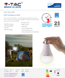 LED-Emergency-Light-Bulb-9W-Energy-Saving-Rechargeable-E27-A70-Bulb-By-V-TAC