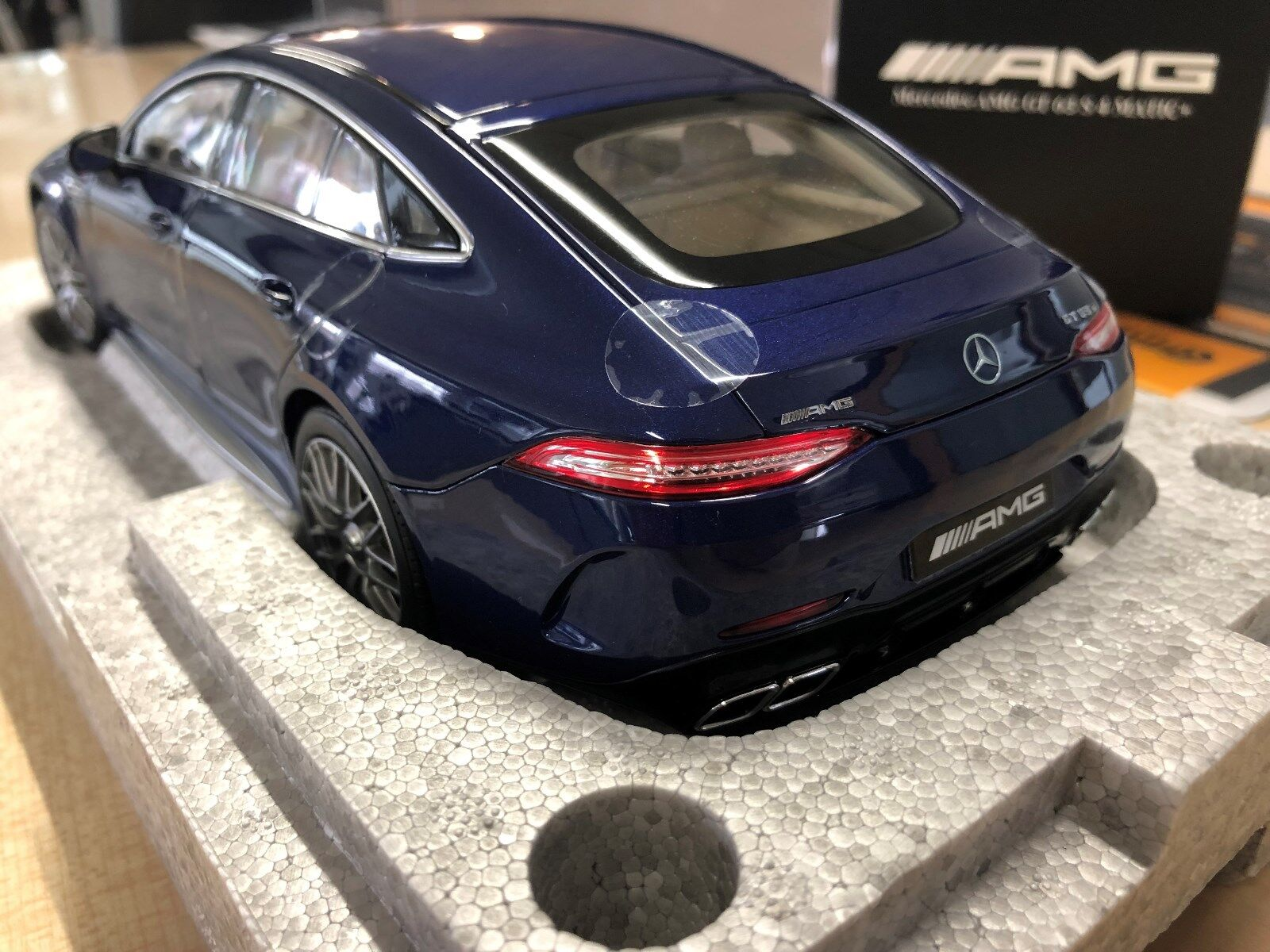 Mercedes Benz, AMG, GT 63 S, 4 Matic, 1 18 Model, Brilliant Blau, Norev