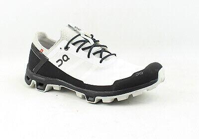 On Cloud Mens Cloudventure Peak White Running Shoes Size 11 (1259360)