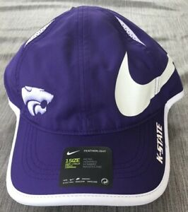 NCAA Kansas State Wildcats Adult Unisex Sideline Cap   Adjustable