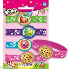 SHOPKINS Stretchy BRACELETS Birthday Party Supplies Loot Treat Bag Favors Reward