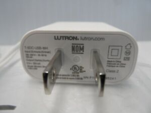 Lutron-Only-Power-Supply-T-5DC-USB-WH-5V-550-mA