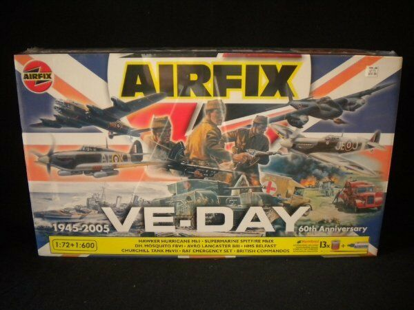 Airfix VE-Day 60th Anniversary 1 72 &   600 Kit
