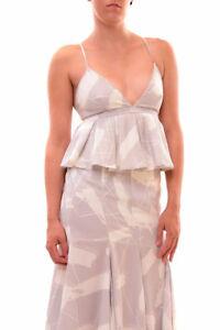 S Top bianco Up Keepsake Grigio £ Rrp Up 130 Stampa Women's Bcf79 B0xXxw