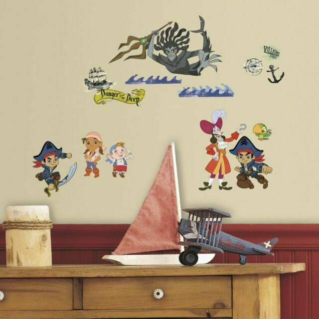 jake and the neverland pirates photo paper WALL STICKER WALL DECALS