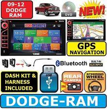 2009-2012 DODGE RAM  Navigation Double Din CD/DVD CAR Radio Stereo bluetooth bt