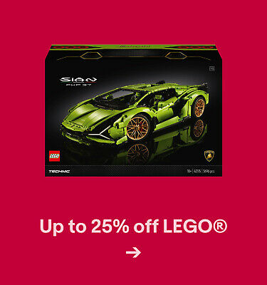 Up to 25% off LEGO®