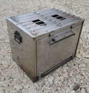 Image Is Loading G1 Military No5 Field Kitchen Hot Box OVEN