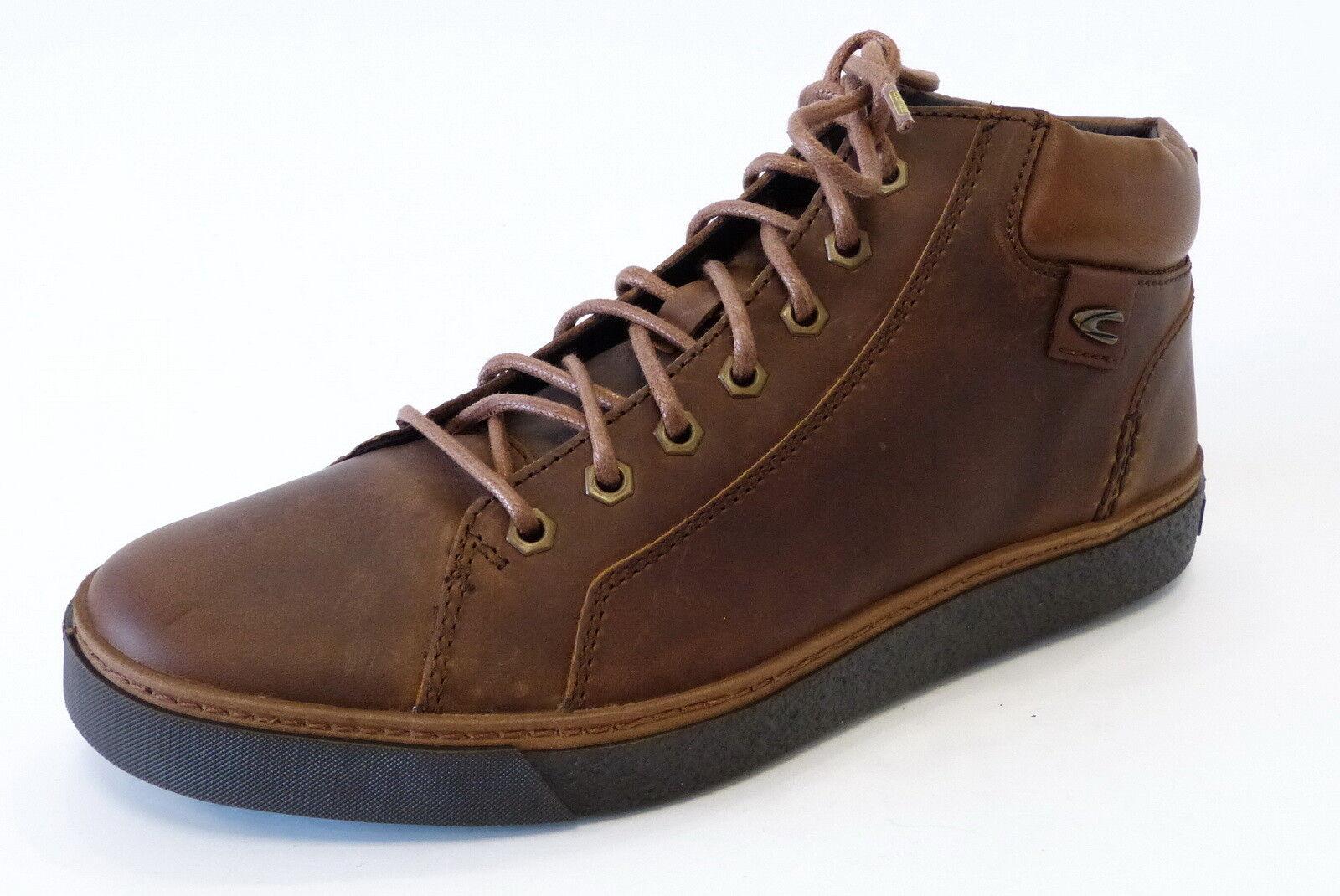 Camel Active Sneaker Cricket High Top bison braun warm Schnür 50013 04