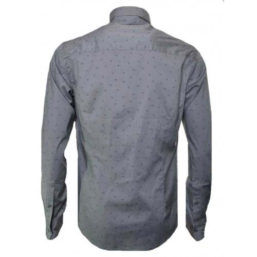 Aquila Taglie Jeans Da Camicia Le Casual Uomo Tutte Armani Sparsi Logo Grigio w1OYqnPx