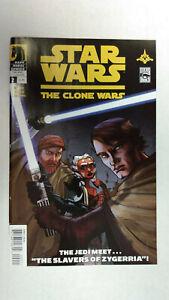 STAR-WARS-THE-CLONE-WARS-2-1st-Printing-AHSOKA-TANO-2008-Dark-Horse