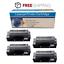 4PK MLT-D205L Toner for Samsung SCX-5739FW SCX-5639FR ML-3312ND ML-3310 ML-3710