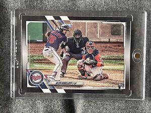 Alex Kirilloff 2021 Topps Series 2 Baseball Rookie Black Border /70 Twins SP SSP