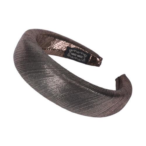 Ladies Padded Bread Headband Hairband Turban Alice Hair Band Accessories Stripe