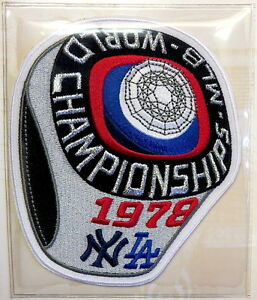 1978 WORLD SERIES NEW YORK YANKEES LOS ANGELES DODGERS Willabee Ward PATCH ONLY