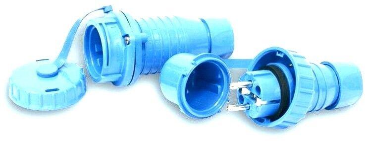1set IP 68 cable conector Estanco kvs01 regenwasserzisterne Schuko embrague