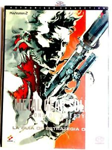 Metal-Gear-Solid-2-Sons-of-Liberty-Guia-Oficial-Videogame-PS2-Playstation-Nuevo