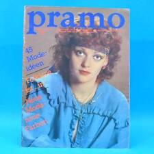 Pramo 8/1982 Praktische Mode Schnittmuster V Folklore Westen Jacken Hose Kinder
