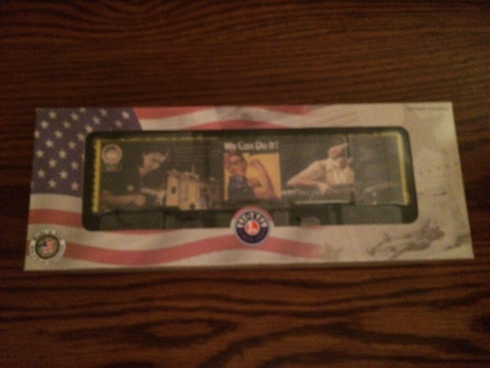 Lionel 83783 Rosie El Remachadora Furgón Nuevo en caja hecha en EE. UU. serie
