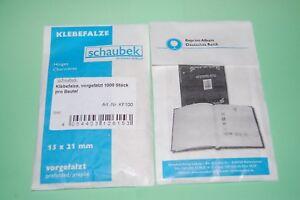 Schaubek-Klebefalze-1000-Stueck-in-der-Tuete-NEU