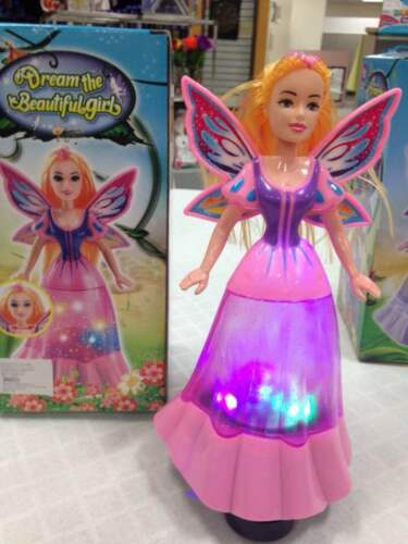 Toys for Girls 2 3 4 5 6 7 8 Year Old Kids Dancing Singing Fairy Doll Light Up