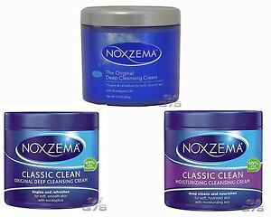 How To Use Noxzema >> Details About Noxzema Cleansing Creams Original Classic Moisturizing Classic Original 340g