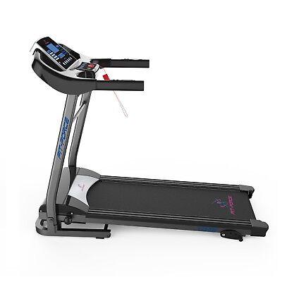 Cinta de correr plegable 1750W con MP3, USB, dos altavoces  y inclinacion