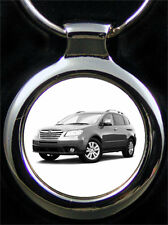 Subaru Tribeca Schlüsselanhänger Tribeca als Fotogravur inkl. eigene Textgravur