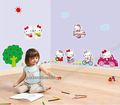 Grande HELLO KITTY Adesivi Da Parete Rimovibile adesivi da parete
