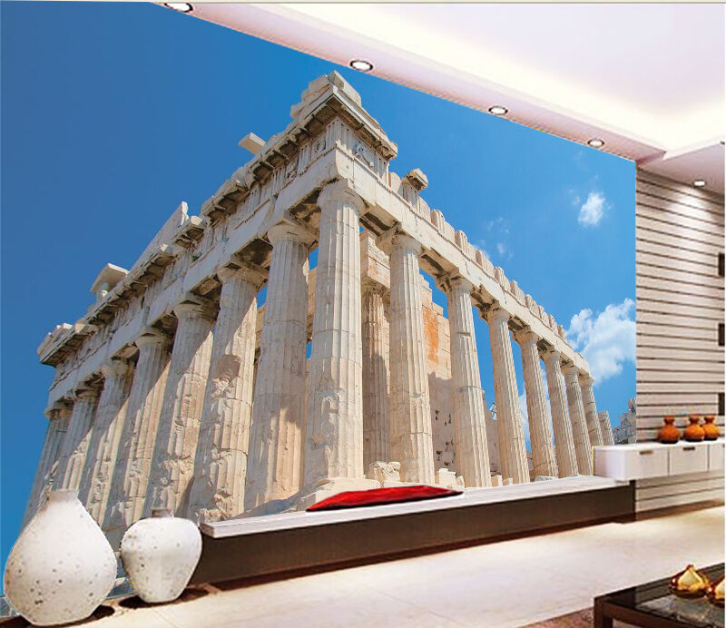 3D Historical Relic 3 Wall Paper Wall Print Decal Wall Deco Indoor AJ Wall Paper