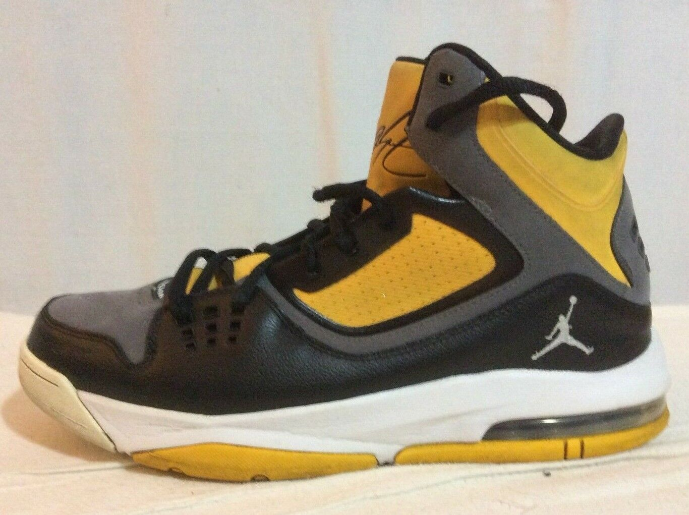 Nike Air Jordan Flight 23 RST Black Gray Gold 512234-035 US Comfortable The latest discount shoes for men and women