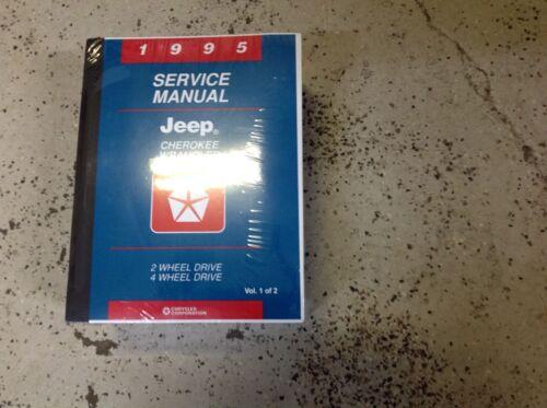 1995 JEEP CHEROKEE WRANGLER Service Shop Workshop Repair Manual BRAND NEW Mopar